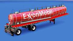 Skin ExxonMobil chemical tank for American Truck Simulator