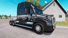 The skin of the Marten on the truck Freightliner Cascadia for American Truck Simulator