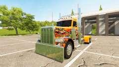 Peterbilt 388 Day Cab for Farming Simulator 2017