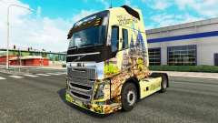 Indonesia skin for Volvo truck for Euro Truck Simulator 2