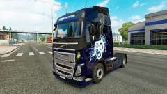 Stylish skin for Volvo truck for Euro Truck Simulator 2