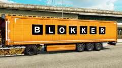 Skin Blokker on semi for Euro Truck Simulator 2