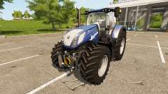 New Holland T7.270 Heavy Duty Blue Power for Farming Simulator 2017