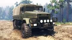 KrAZ-5131ВЕ v3.0 for Spin Tires