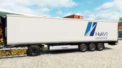 Skin HAVI Logistics for semi-refrigerated for Euro Truck Simulator 2