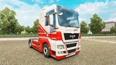 Skin on TruckSim tractor MAN for Euro Truck Simulator 2