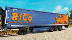 Skin Rico on trailers for Euro Truck Simulator 2