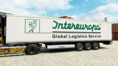 Skin Intereuropa on the semitrailer-the refrigerator for Euro Truck Simulator 2