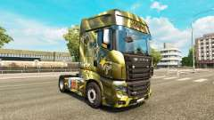 Skins Energy Drinks on the tractor Scania R700 for Euro Truck Simulator 2