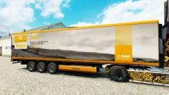 Skin Rajasil for semi-refrigerated for Euro Truck Simulator 2
