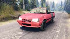 Opel Kadett Cabrio (E) for Spin Tires