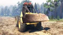 John Deere 540B for Spin Tires