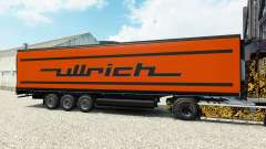 Skin Ullrich on the semitrailer-the refrigerator for Euro Truck Simulator 2