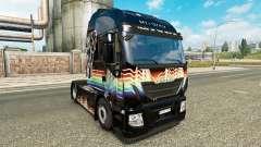 Rainbow Dash skin for Iveco tractor unit for Euro Truck Simulator 2