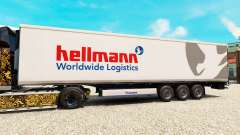 Skin Hellman on the semitrailer-the refrigerator for Euro Truck Simulator 2