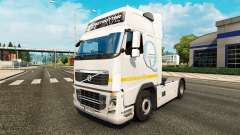 Skin Q-Meieriet for Volvo truck for Euro Truck Simulator 2