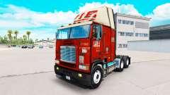 Skin PIE on truck Freightliner FLB for American Truck Simulator