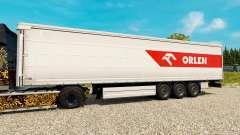 Skin PKN ORLEN for trailers for Euro Truck Simulator 2