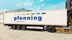 Skin Pfenning for semi-refrigerated for Euro Truck Simulator 2