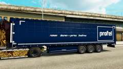 The skin on Our trailers for Euro Truck Simulator 2