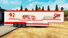 The semitrailer-the refrigerator TruckSim for Euro Truck Simulator 2
