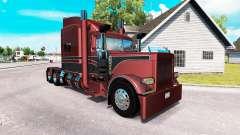 Metallic skin for the truck Peterbilt 389 for American Truck Simulator