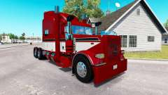 Red Baron skin for the truck Peterbilt 389 for American Truck Simulator