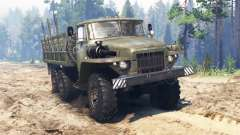 Ural-375 v2.0 for Spin Tires
