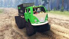 Volkswagen Samba 8x8 for Spin Tires
