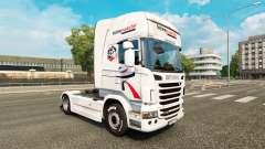 Intermarche skin for Scania truck for Euro Truck Simulator 2