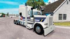 Burton Trucking skin for the truck Peterbilt 389 for American Truck Simulator