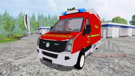 Volkswagen Crafter Feuerwehr Bochum for Farming Simulator 2015