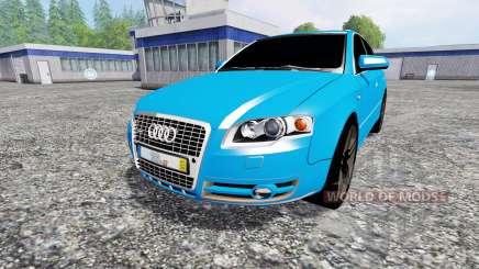 Audi A4 quattro Avant (B7) for Farming Simulator 2015