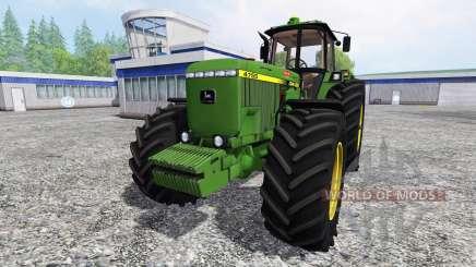 John Deere 4755 v2.5 for Farming Simulator 2015
