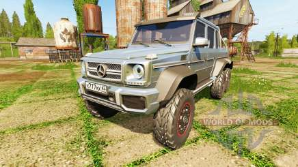 Mercedes-Benz G65 AMG 6x6 for Farming Simulator 2017