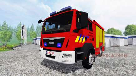 MAN TGM Feuerwehr for Farming Simulator 2015