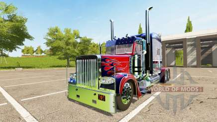 Peterbilt 388 Optimus Prime for Farming Simulator 2017