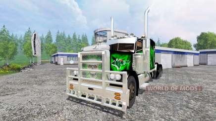 Peterbilt 379 v1.9 for Farming Simulator 2015
