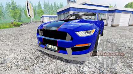 Ford Mustang GT for Farming Simulator 2015