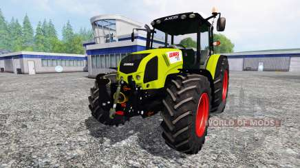 CLAAS Axos 330 v2.0 for Farming Simulator 2015
