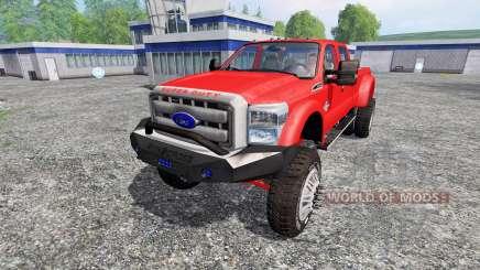 Ford F-450 [custom] for Farming Simulator 2015