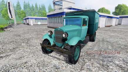 GAZ-AA bread for Farming Simulator 2015