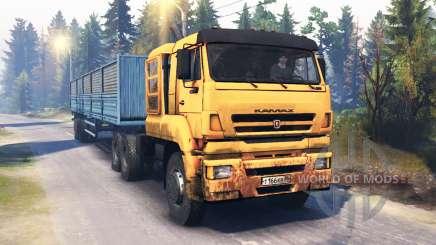 KamAZ-65226 v4.0 for Spin Tires