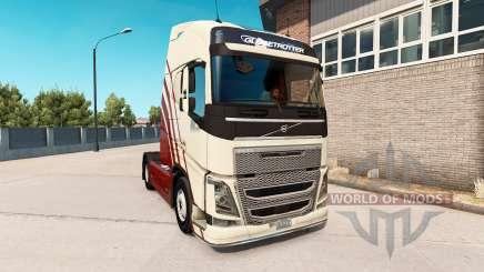 Volvo FH v0.7.5b for American Truck Simulator