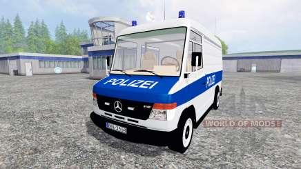 Mercedes-Benz Vario Polizei for Farming Simulator 2015