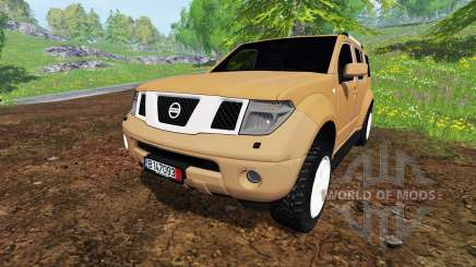 Nissan Pathfinder for Farming Simulator 2015