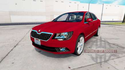 Skoda Superb v1.6 for American Truck Simulator