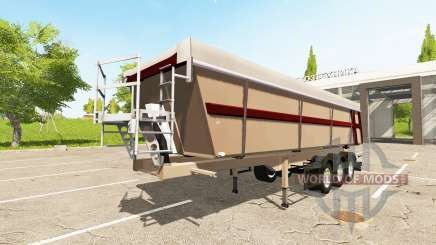 Schmitz Cargobull SKI 24 Pernille Holmboe for Farming Simulator 2017