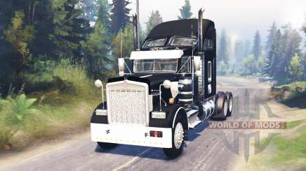 Kenworth W900 for Spin Tires