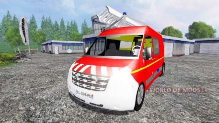 Renault Master VTU for Farming Simulator 2015